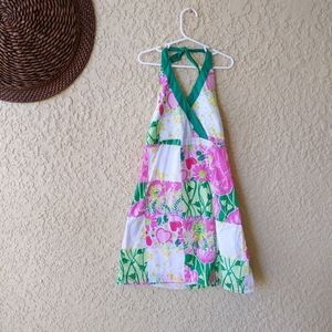Lilly Pulitzer haulter top dress